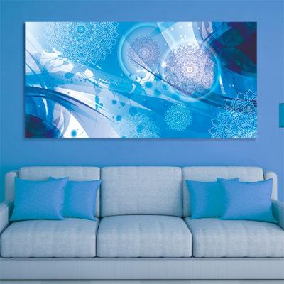 tableau oriental abstrait toile orientale d coration orientale arjazia. Black Bedroom Furniture Sets. Home Design Ideas