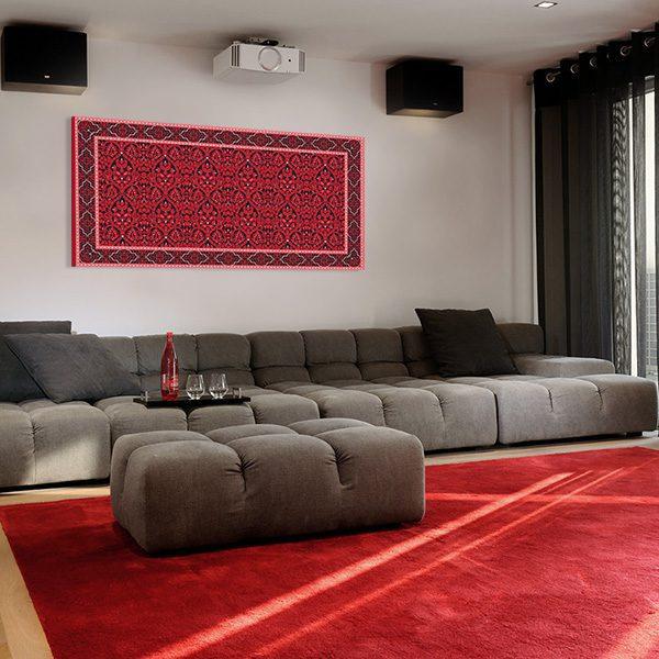 tableau oriental tapis toile orientale d coration orientale arjazia. Black Bedroom Furniture Sets. Home Design Ideas