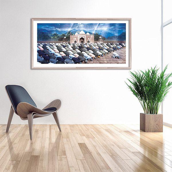 Tableau oriental - Toile orientale - Décoration orientale - Arjazia