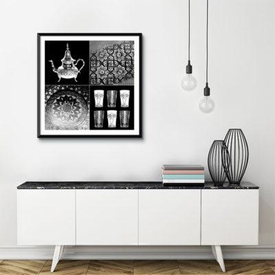poster oriental tableau oriental toile orientale arjazia. Black Bedroom Furniture Sets. Home Design Ideas