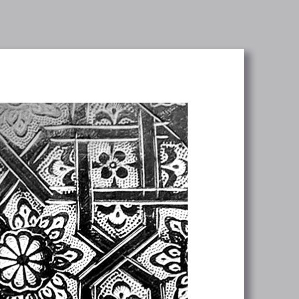poster oriental service th d coration orientale arjazia. Black Bedroom Furniture Sets. Home Design Ideas