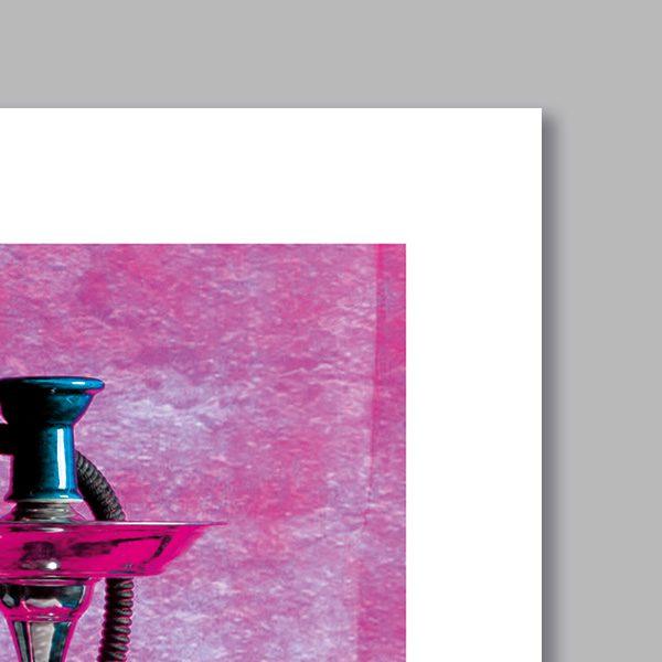 poster oriental chicha patchwork d coration orientale arjazia. Black Bedroom Furniture Sets. Home Design Ideas